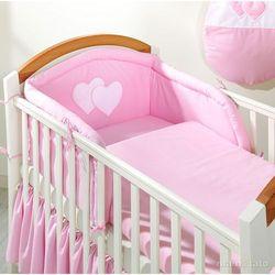 Mamo-tato pościel 2-el różowa do łóżeczka 60x120cm