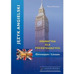 Język angielski - Gramatyka dla początkujących, książka z kategorii E-booki