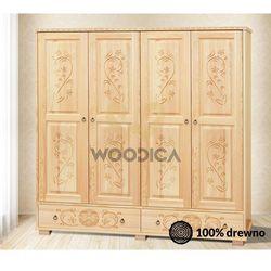 6. szafa góralska [4d2s] 162x190x57 marki Woodica
