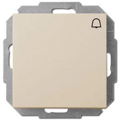 Elektro-plast Przycisk dzwonek sentia kremowy (5906868430520)