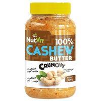 NUTVIT 100% Cashew Butter - 500g - Crunchy