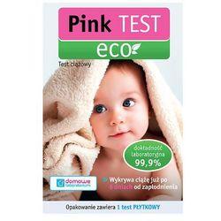 PINK TEST ECO 1szt Test ciążowy płytkowy | DARMOWA DOSTAWA OD 200 ZŁ z kategorii Testy ciążowe