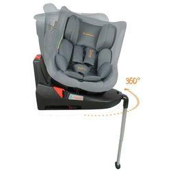 Baninni Fotelik samochodowy Twirl 360 Isofix, 0+1, szary, BNCS021-GY (5404016400710)