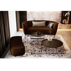 Wygodna i oryginalna sofa TURIN - czarny, kolor czarny