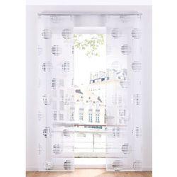 """Zasłona panelowa """"alizee"""" (1 szt.) biało-srebrny marki Bonprix"""