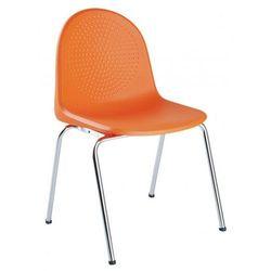 Krzesło AMIGO click - do poczekalni i sal konferencyjnych - z możliwością łączenia, konferencyjne, na nogach, stacjonarne