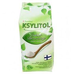 Santini Ksylitol Cukier Brzozowy 1000g folia - 1000g z kategorii Cukier i słodziki