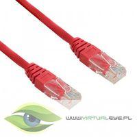 4World kabel krosowy RJ45, bez osłonki, Cat. 5e UTP, 15 m, czerwony (04716) Szybka dostawa! Darmowy odbiór w