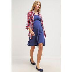 MAMALICIOUS MLSTINA Sukienka z dżerseju twilight blue z kategorii Sukienki ciążowe