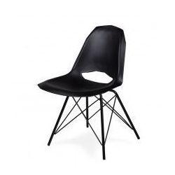 Krzesło GULAR DSM czarne - polipropylen, podstawa czarna metalowa, DO-035.DSM.CZARNY (7811999)