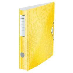 Leitz Segregator active wow a4/50 180 żółty 11070016 (4002432120529)
