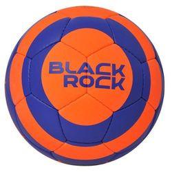 Piłka nożna Black Rock - pomarańczowy/niebieski