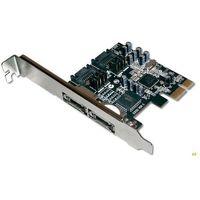 Kontroler Digitus PCIe 2 x SATAII wew. 2 x eSATAII zew. (DS-30102-1) Darmowy odbiór w 21 miastach! (401603232
