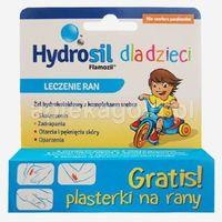 Żel Hydrosil żel hydrokoloidowy z kompleksem srebra 20 g + Plasterki na rany GRATIS!!