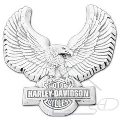 1 Sztukateria betonowa logo harley-davidson