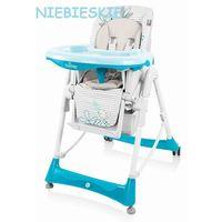 bambi krzesełko do karmienia niebieski 05 wysyłka 24h marki Baby design