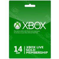 Microsoft Xbox 14 days gold membership
