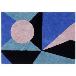 Lorena canals Dywan bawełniany geometric frame -
