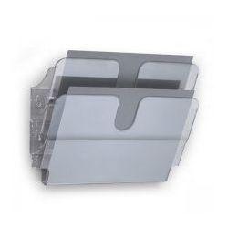 Durable Pojemniki na dokumenty poziome a4 landscape 2 szt. flexiplus a4 przezroczyste 1709014400 (7318089014409)