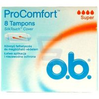 OB 8szt ProComfort SilkTouch Super Tampony (3574660234862)