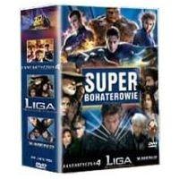 Imperial cinepix Super bohaterowie: fantastyczna czwórka / x-men 2 / liga niezwykłych dżentelmenów