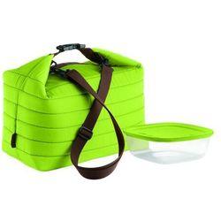 Duża torba termiczna z pojemnikiem On the Go zielona, 03290384