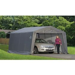 Namiot garażowy ShelterLogic 3,7 x 4,9 m szary
