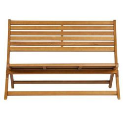 Woood ławka lois drewniana naturalna 373796-h (8714713086795)