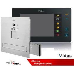 Vidos zestaw wideodomofonu skrzynka na listy monitor 7 cali s1201-sk+m1021b