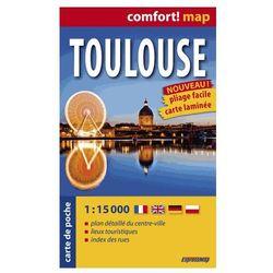 Tuluza ExpressMap Toulouse Plan Miasta 1:15 000 comfort! map (kategoria: Podróże i przewodniki)