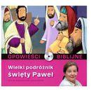 Praca zbiorowa Opowieści biblijne. tom 24. wielki podróżnik święty paweł (książka + cd) (9788376751245)