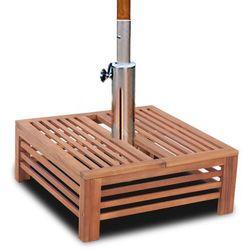 Vidaxl drewniana pokrywka na stojak do parasola (8718475908623)
