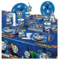 Zestaw urodzinowy Tomek i przyjaciele - 37 elem. z kategorii dekoracje i ozdoby dla dzieci
