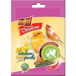 Vitapol Vitaline miodowe perełki dla kanarka 20x20g