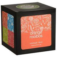 Sypana herbata  rooibos with orange - kartonik 100g marki Vintage teas