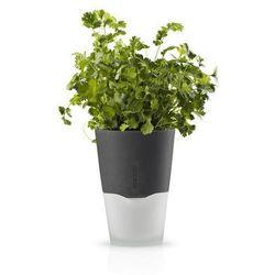 Eva Solo - samopodlewająca doniczka na zioła - 11 cm - stone grey