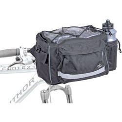 Author 15-002515 torba na kierownicę  a-h721n, czarna, 25,4-31,8 mm, kategoria: sakwy, torby i plecaki rowero