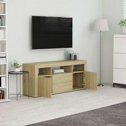 vidaXL Szafka pod TV, dąb sonoma, 120x30x50 cm, płyta wiórowa (8719883915197)