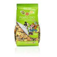 Makaron (semolinowy trójkolorowy) disney mickey bio 300 g - dalla costa marki Dalla costa (makarony dla dziec