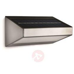 Solarna lampa ścienna na zewn. LED GREENHOUSE (8718291489450)