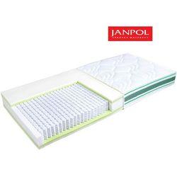 Janpol erato - materac multipocket, sprężynowy, rozmiar - 180x190, pokrowiec - jersey standard wyprzedaż, w