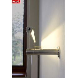 Kinkiet linkowy LED do montażu sufitowo - ściennego (karton gips) - przesłona transparentna - biały zimny