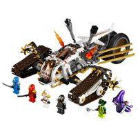 Lego NINJAGO Pojazd ultradźwiękowy 9449