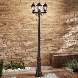 Lampenwelt.com Latarnia ogrodowa nane, latarnia, 3-pkt. (4251096561371)