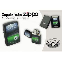 Zapalniczka Zippo One World One Game Black Matte, towar z kategorii: Gadżety