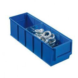 Allit Plastikowy pojemnik do regału shelfpoj., 91 x 300 x 81 mm, niebieski (4005187565201)
