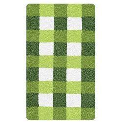 dywanik łazienkowy vichy, zielony, marki Meusch