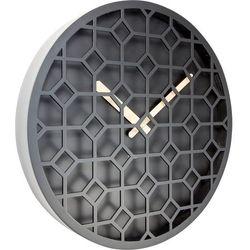 Zegar ścienny Discrete black by Nextime, 3215 ZW
