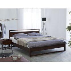Łóżko - drewniane - olejowane - 180cm x 200cm - GIULIA