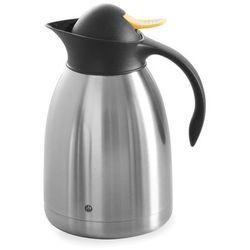 Termos do herbaty z żółtym przyciskiem, 1,5 l   , 446621 marki Hendi